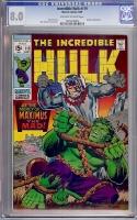 Incredible Hulk #119 CGC 8.0 ow/w