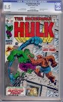 Incredible Hulk #122 CGC 8.5 w