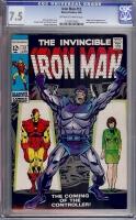 Iron Man #12 CGC 7.5 ow/w