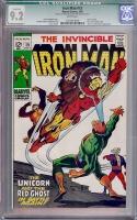 Iron Man #15 CGC 9.2 w