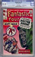 Fantastic Four #16 CGC 8.0 ow