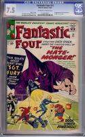 Fantastic Four #21 CGC 7.5 ow/w