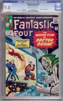 Fantastic Four #23 CGC 9.0 ow/w