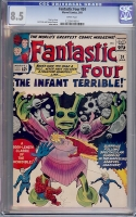 Fantastic Four #24 CGC 8.5 w