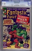 Fantastic Four #25 CGC 7.0 ow/w