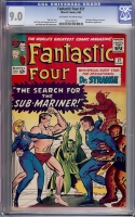 Fantastic Four #27 CGC 9.0 ow/w