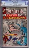 Fantastic Four #33 CGC 9.0 ow/w