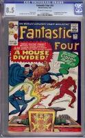 Fantastic Four #34 CGC 8.5 ow/w