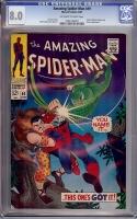 Amazing Spider-Man #49 CGC 8.0 ow/w
