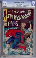 Amazing Spider-Man #52 CGC 7.0 ow/w