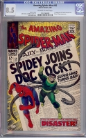 Amazing Spider-Man #56 CGC 8.5 ow/w