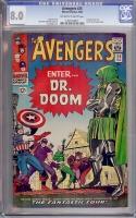 Avengers #25 CGC 8.0 ow/w