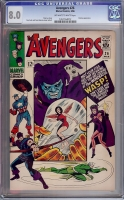 Avengers #26 CGC 8.0 ow/w