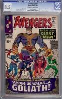 Avengers #28 CGC 8.5 ow/w