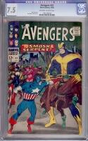 Avengers #33 CGC 7.5 ow/w