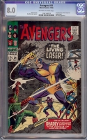 Avengers #34 CGC 8.0 ow/w
