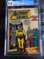 Action Comics #236 CGC 7.0 ow