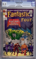 Fantastic Four #39 CGC 8.5 w