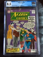 Action Comics #261 CGC 8.5 ow/w