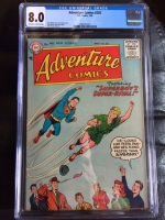 Adventure Comics #226 CGC 8.0 ow/w