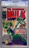 Incredible Hulk #114 CGC 7.5 ow/w