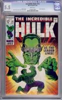 Incredible Hulk #115 CGC 5.5 w