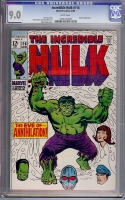 Incredible Hulk #116 CGC 9.0 w