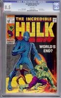 Incredible Hulk #117 CGC 8.5 w