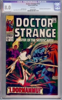Doctor Strange #172 CGC 8.0 w