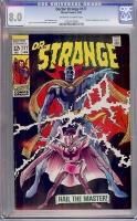 Doctor Strange #177 CGC 8.0 ow/w