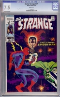 Doctor Strange #179 CGC 7.5 w