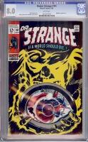 Doctor Strange #181 CGC 8.0 w