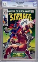 Doctor Strange #182 CGC 8.0 w