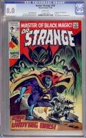 Doctor Strange #183 CGC 8.0 w