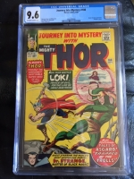 Journey Into Mystery #108 CGC 9.6 ow/w