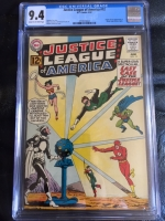 Justice League of America #12 CGC 9.4 cr/ow