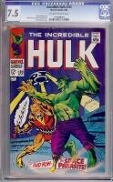 Incredible Hulk #103 CGC 7.5 ow/w