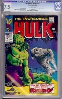 Incredible Hulk #104 CGC 7.5 ow