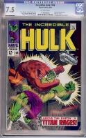 Incredible Hulk #106 CGC 7.5 ow