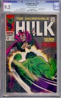 Incredible Hulk #107 CGC 9.2 ow/w