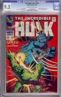 Incredible Hulk #110 CGC 9.2 ow/w