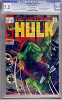 Incredible Hulk #111 CGC 7.5 ow