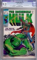 Incredible Hulk #112 CGC 9.2 ow/w