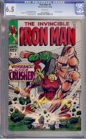 Iron Man #6 CGC 6.5 w