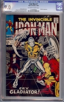 Iron Man #7 CGC 9.0 ow/w