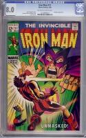 Iron Man #11 CGC 8.0 ow/w