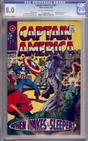 Captain America #101 CGC 8.0 w
