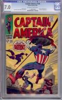 Captain America #105 CGC 7.0 ow/w