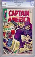 Captain America #108 CGC 6.0 ow/w