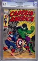 Captain America #110 CGC 9.0 ow/w